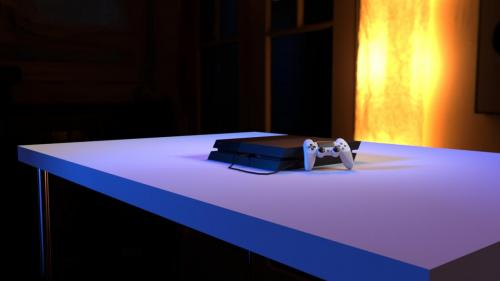PlayStation 4 Render